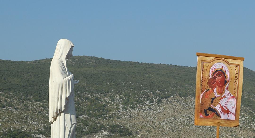 Notre Dame de Clarté à Médjugorgé